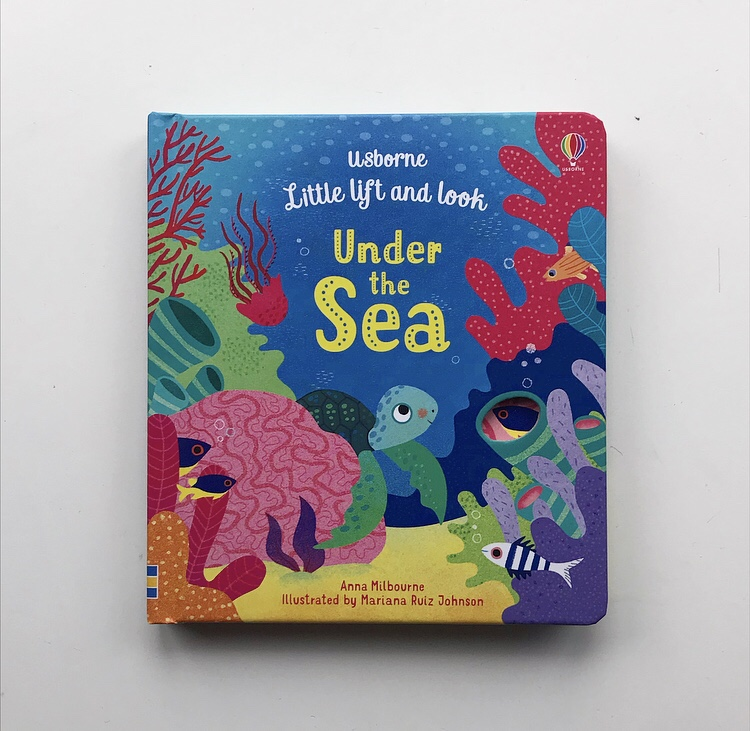 Usborne little loft and look under the sea book review on mammafilz.com