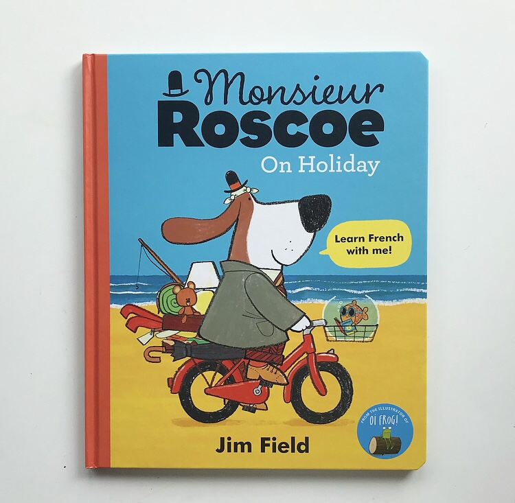 Monsieur Roscoe on holiday book review on mammafilz.com