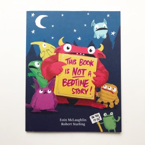 This book is not a bedtime story book review