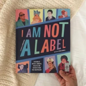 I am not a label book review by Cerrie  burnell