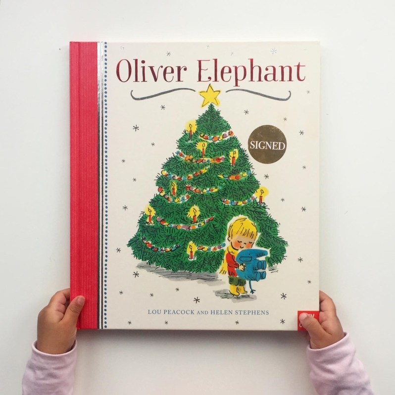 Olive elephant Lou peacock and Helen Stephens book review
