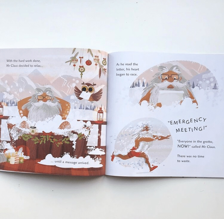 The reindeer that saved Christmas book review
