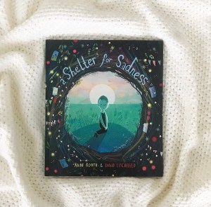 A shelter for sadness by Anne booth and litchfield