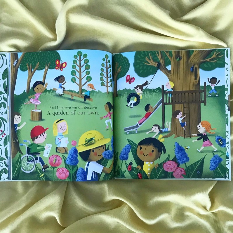 Nature Trail by Benjamin Zephaniahs and illustrated by Nila Aye.