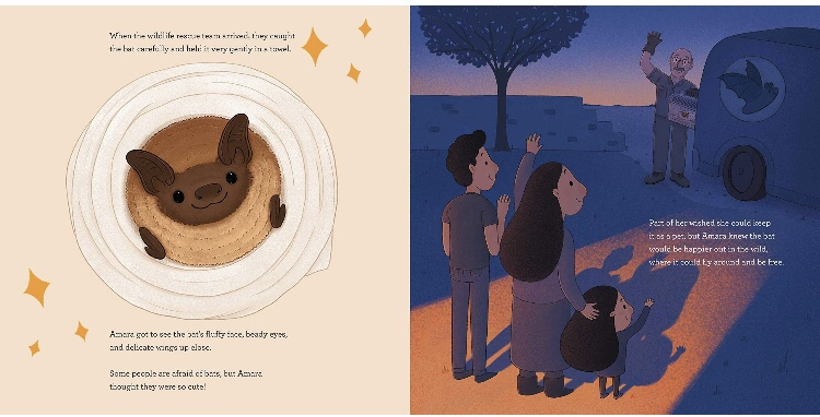 Amara and the bats book review