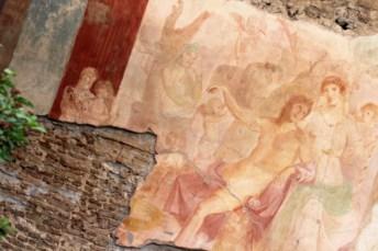 Napoli Pompei affresco