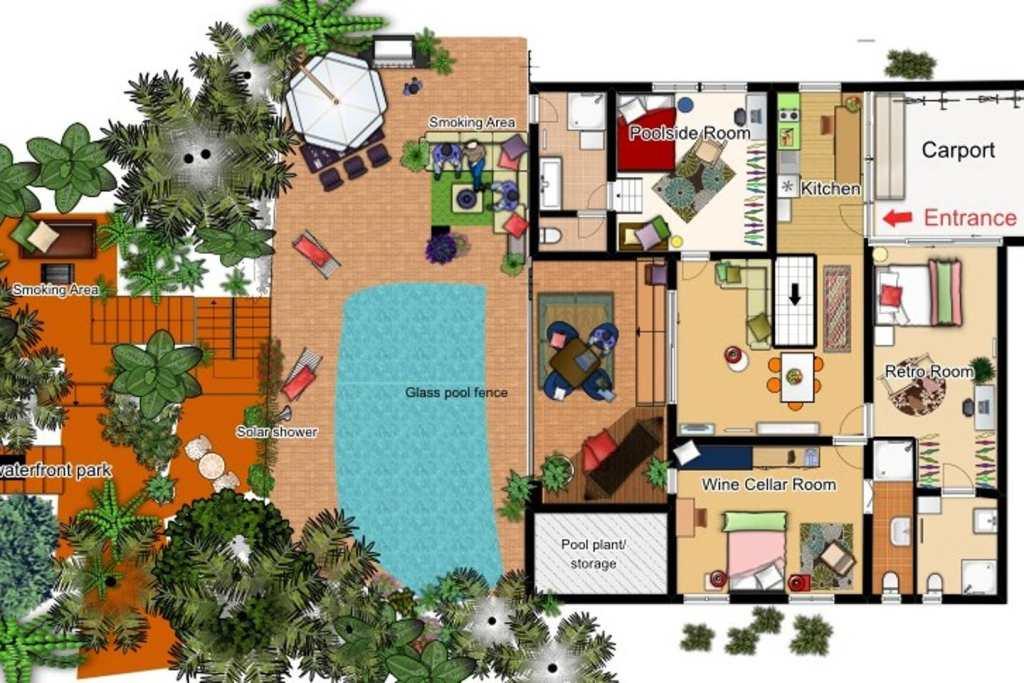 Airbnb Floor Plan