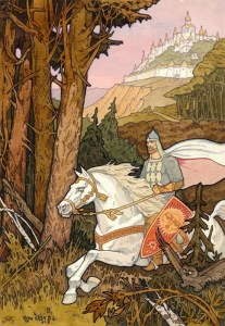illustrazione di Ivan Bilibin