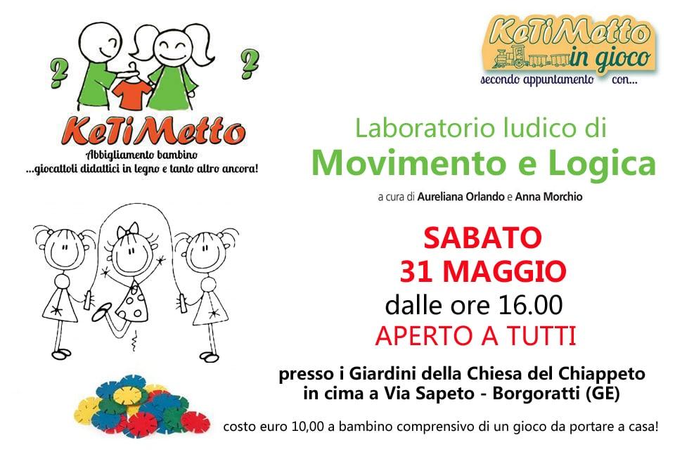"""Ketimetto in gioco """" Movimento e Logica"""""""