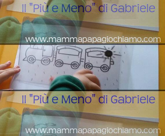 """Il """"Più e Meno"""" di Gabriele"""