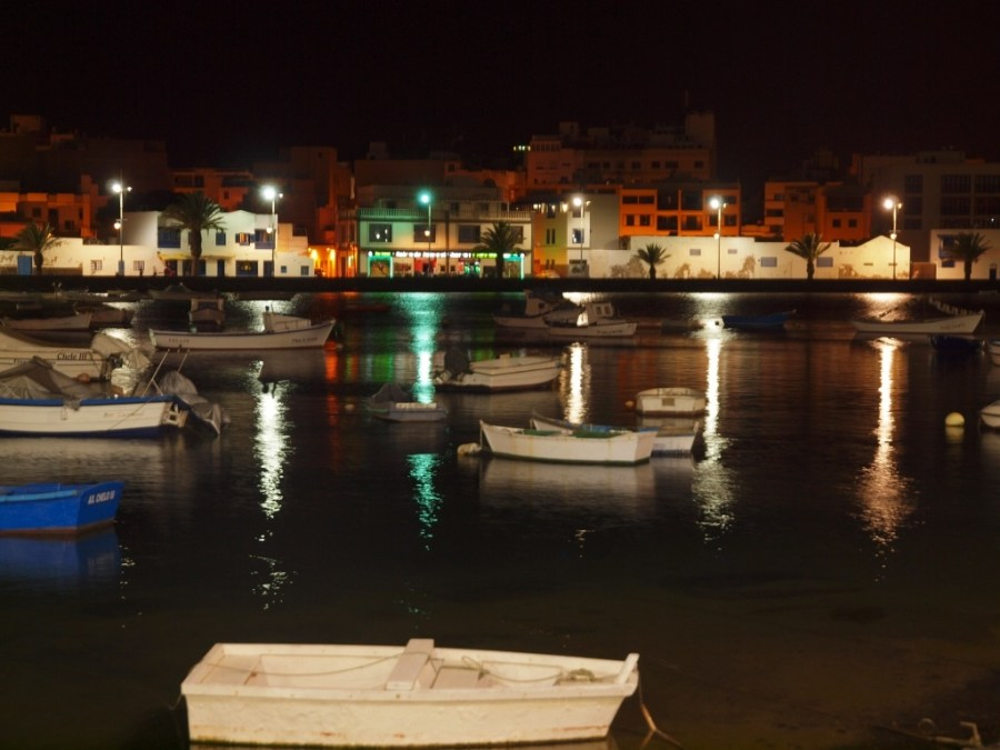 arrecife by night lanzarote