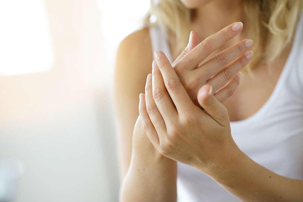 mani secche per troppi lavaggi