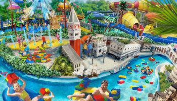 Legoland water park garland Italia