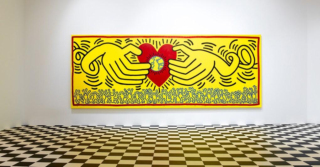 mostra gratuita di Keith Haring