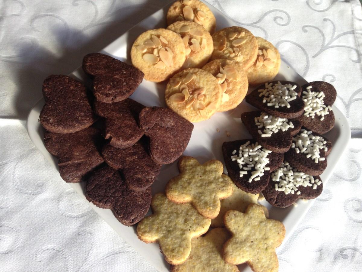 Base di pasta frolla senza glutine per crostate e biscotti