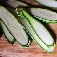 zucchine a fette sottili