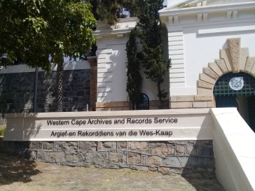 Western Cape Archives asn Records Servies