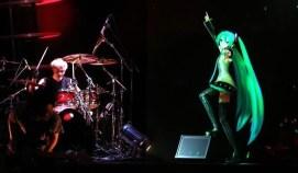 Hatsune Miku with Live Band