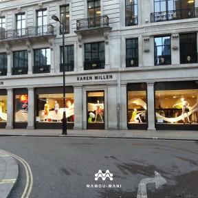 Picture of the Karen Millen Regent Street Store Windows on Princes Street © Mamou-Mani