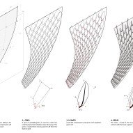 The steps: Diagram showing the digital process behind The Flying Leaves ©Mamou-Mani