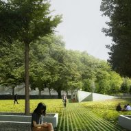 Holocaust Memorial - heneghan peng With Gustafson Porter + Bowman, Event, Sven Anderson, Bartenbach, Arup, Bruce Mau Design, BuroHappold, Mamou-Mani, Turner & Townsend, PFB, Andrew Ingham & Associates and LMNB