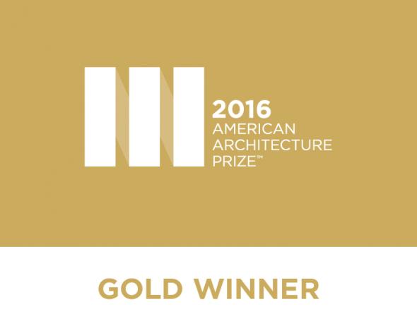 American Architecture Prize Gold Award 2016