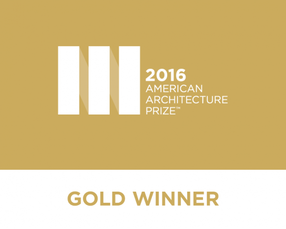 American Architecture Prize Gold Award 2016