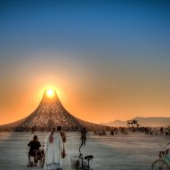 Temple Galaxia - Burning Man 2018