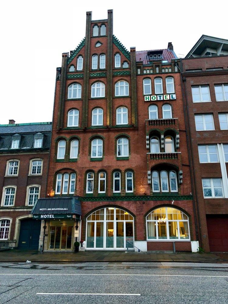 A hotel in Hamburg