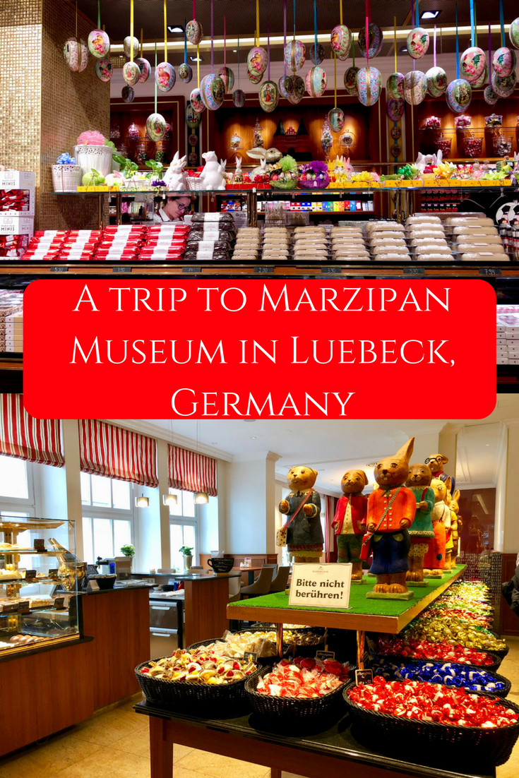 A trip to Marzipan Museum in Luebeck, Germany