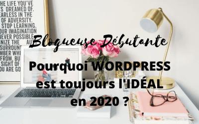 Blogueuse débutante, pourquoi WordPress est toujours l'idéal en 2020 ?