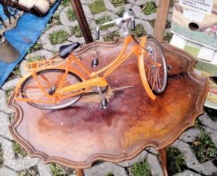 jarmark staroci w Bytomiu rowerek