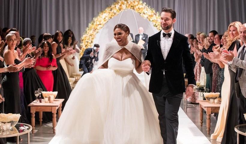 Les photos du mariage de Serena Williams sur le thème de «La Belle et la Bête»