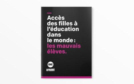 Le nouveau classement de l'éducation en Afrique lors de la journée internationale de la fille par l'ONG ONE