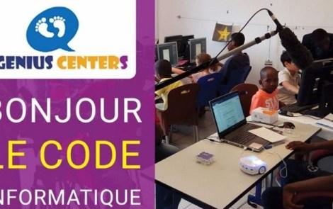 Le code informatique à Genius Centers