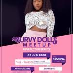 Curvy Dolls MeetUp 1ère édition ce 3 juin 2018 à Douala