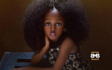 Jare Ijalana, la Nigérienne de 5 ans élue « plus belle petite fille au monde »   Je Wanda Magazine