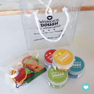 Kit de pâte à modeler naturelle Légumes mini – Wonderdough