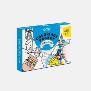 Coloriage pocket mini Atlas – Omy