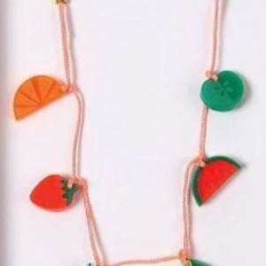 Collier fruits – Meri Meri