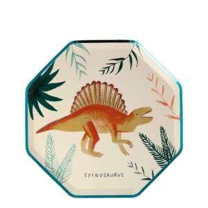 8 Assiettes dinosaures – Meri Meri