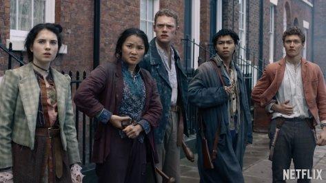 De jonge cast van The Irregulars recensie op Netflix België