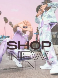 shop new in pop up banner