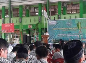 Maulid Nabi Besar Muhammad SAW di  MAN2 Model Makassar 2017