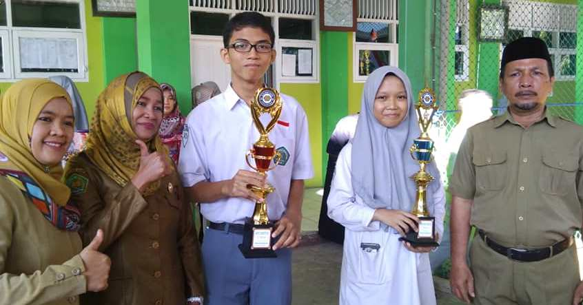 Matematika dan Bahasa inggris juara di Golden gate  education fair 2018