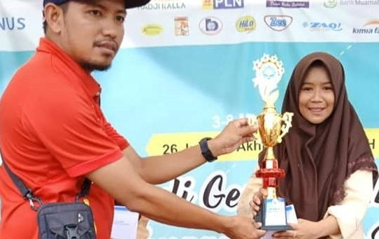 Man 2 Makassar juara tenis meja Nur fikri fair 2019