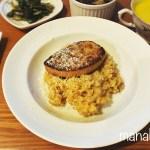 [レシピ]ポルチーニ茸とフォアグラの玄米リゾット