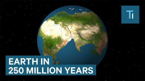 2.5億年後に大陸はどうなっているの?現在のプレートの動きから未来の大陸をシュミレーションしてみた