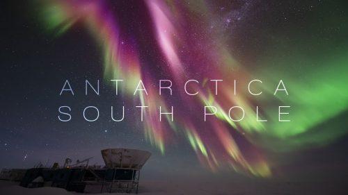 南極大陸のど真ん中にある南緯90度地点「南極点」の夜景は身震いするほど美しかった!!