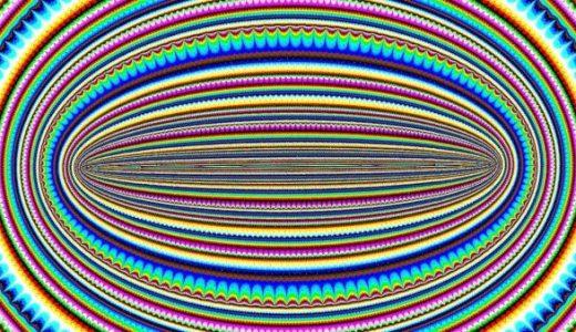 【閲覧注意】ずっと動画の中心を見ていると意識が吹っ飛びそうになる動画